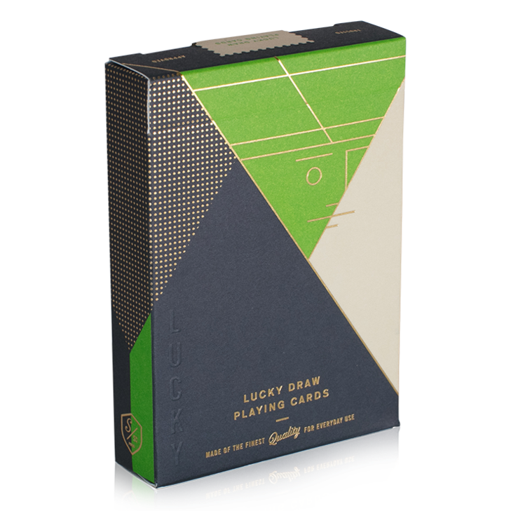 Lucky Draw Green Edition Playing Cards
