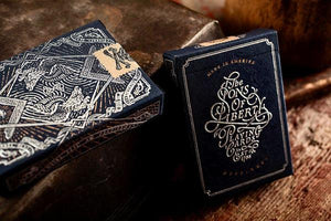 Sons of Liberty Patriot Blue Playing Cards