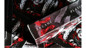Arcane Red Playing Cards