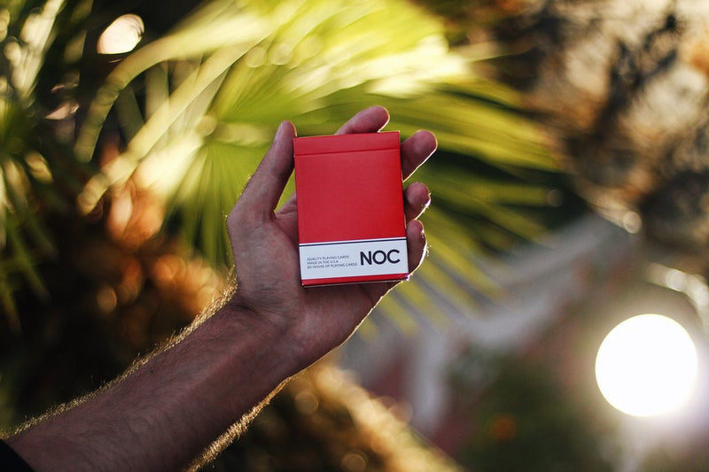 NOC Originals Red Playing Cards