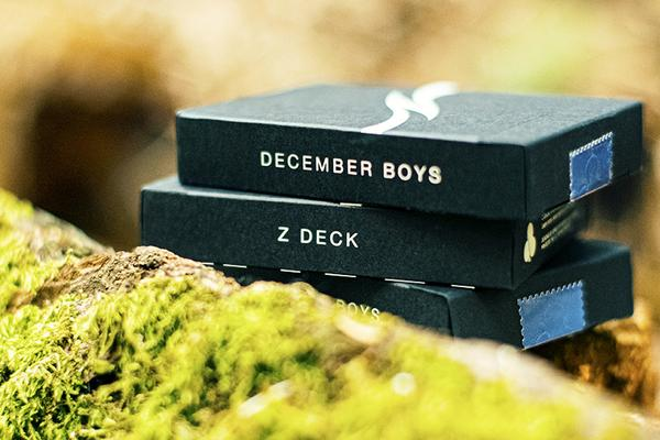 Z Deck Playing Cards