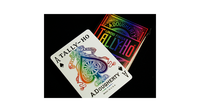 Tally-Ho Spectrum Playing Cards
