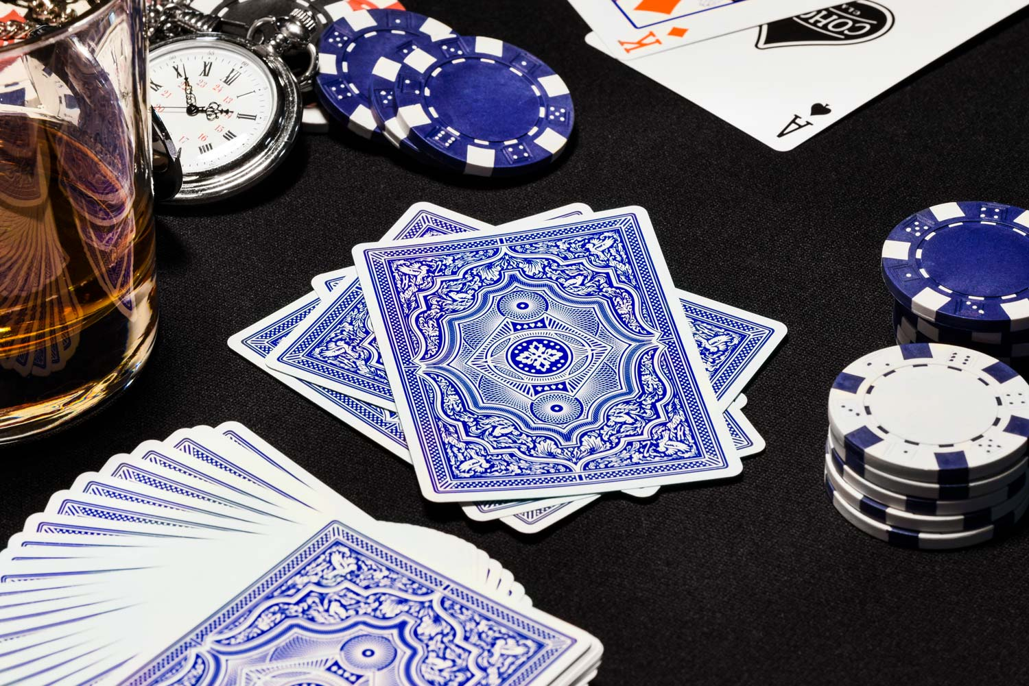 Cohorts Blue (Marked) Playing Cards