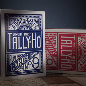 Tally-Ho Circle Back Blue Playing Cards