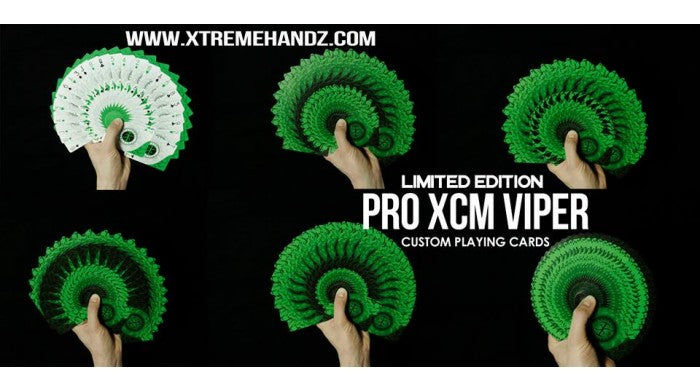 Viper Pro XCM (Signed) Playing Cards