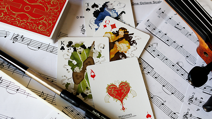 Vivaldi Largo Playing Cards