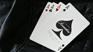 Madison Rounders White Playing Cards