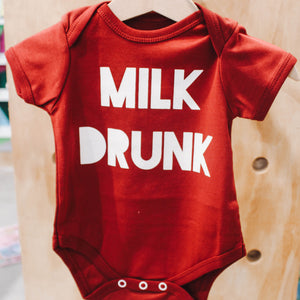 Milk Drunk Onesie