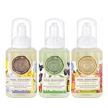 Mini Foaming Hand Soap set of 3 – 4.7oz
