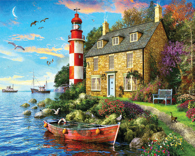 The Cottage Lighthouse (1,000 piece)