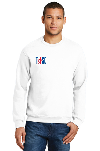 TASO Embroidered Volleyball Sweatshirt