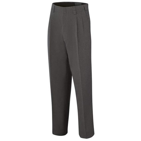 Adams Stretch Pleated COMBO Pant Charcoal Grey