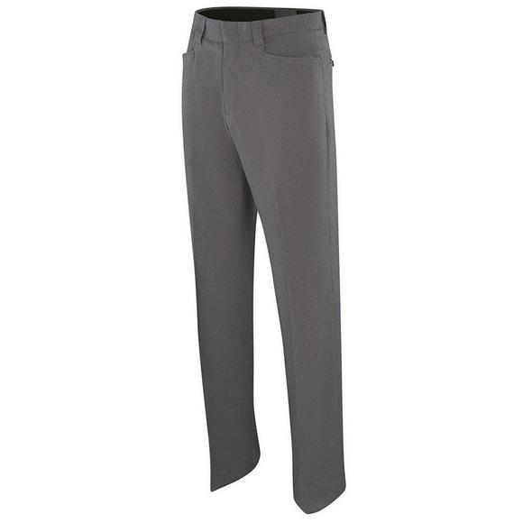 Adams Women's Stretch Flat Front COMBO Pant Heather Grey