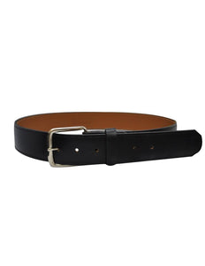 "Smitty Black 1 1/2"" Leather Belt"