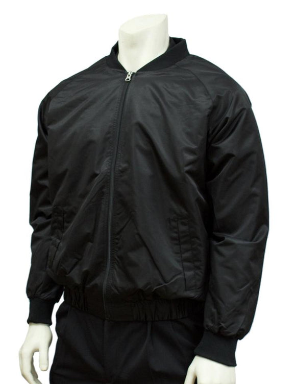 Smitty Traditional Black Jacket w/Full Front Zipper