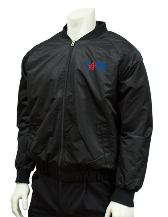 Smitty TASO Traditional Black Jacket w/Full Front Zipper