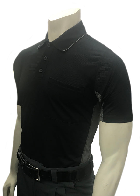 Smitty Major League Style Short Sleeve Umpire Shirt w/Side Panel