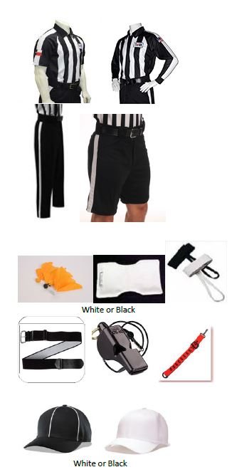 Adams Shorts and Cliff Keen Shirt Football TASO Starter Package