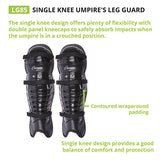 Champion Single Knee Umpire Leg Guard