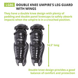 Champion Double Knee Umpire Leg Guard w/Wings