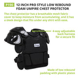 Champion Low Rebound Umpire Chest Protector