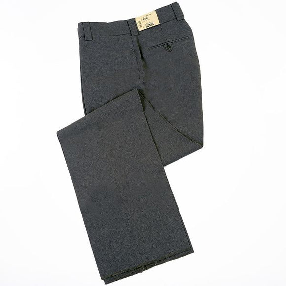 Honig's  Flat Front COMBO Pant Heather Grey