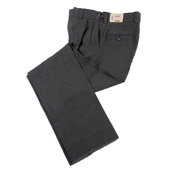Honig's Ultimate Pleated PLATE Pant Charcoal Grey