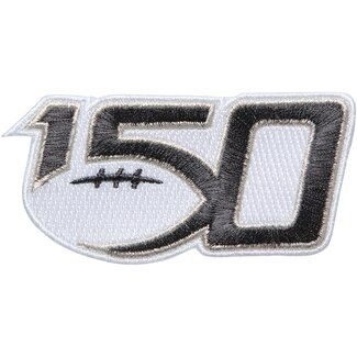 NCAA 150th Year Anniversary Football Patch