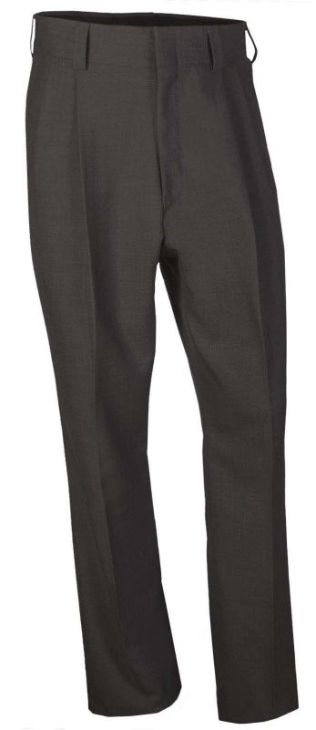 Honig's MLB Pleated Poly-Wool PLATE Pants Charcoal Grey