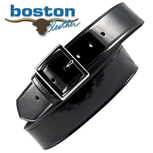 "Boston Patent Leather 1 3/4"" Belt"