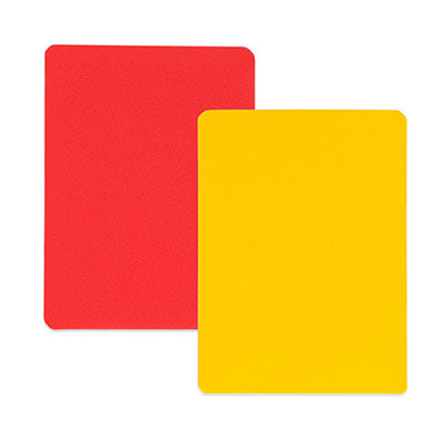 Red & Yellow Penalty Cards