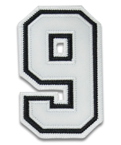 "4"" Umpire Sleeve Numbers"