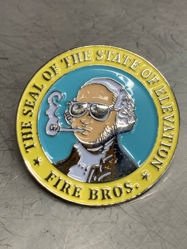State of Elevation Pin