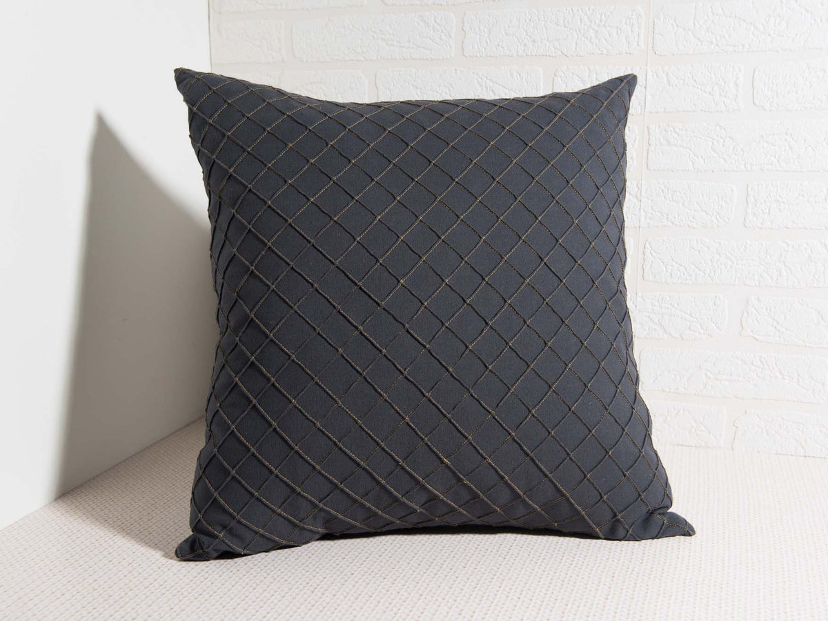 Charcoal City Pillow