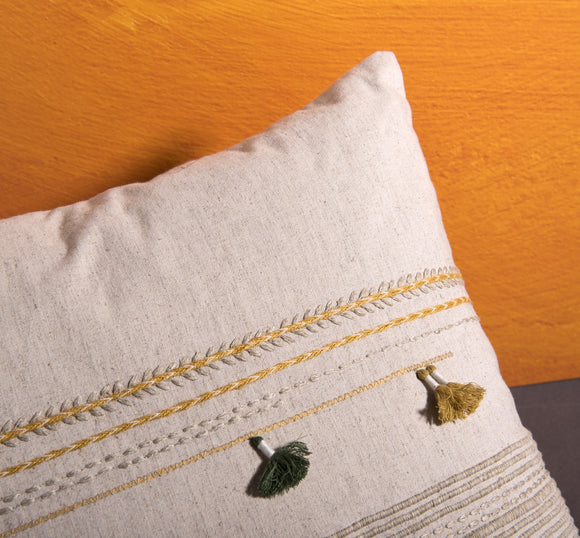 Ferrare Pillow With Tassels