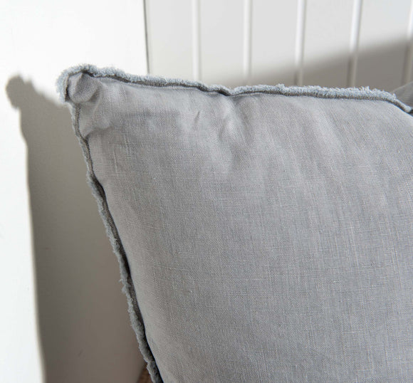 Grey Linen Ibiza Pillow