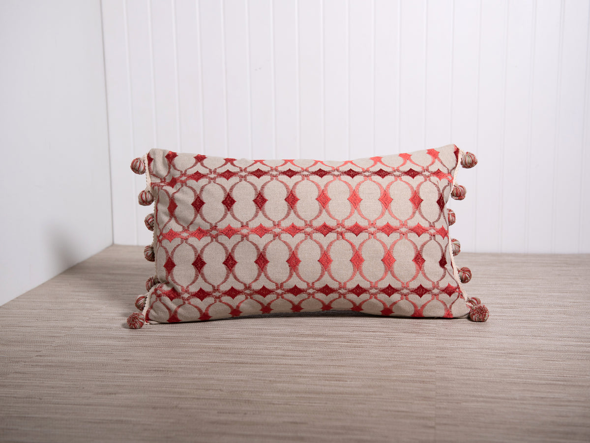 Embroidered Nomade Pillow