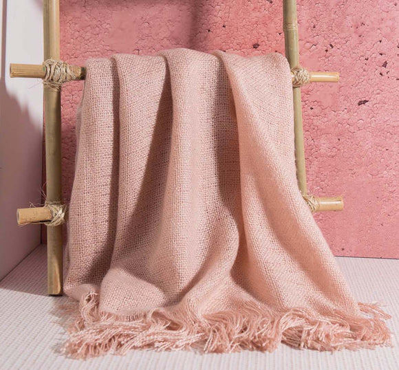 Pink Patmos Throw