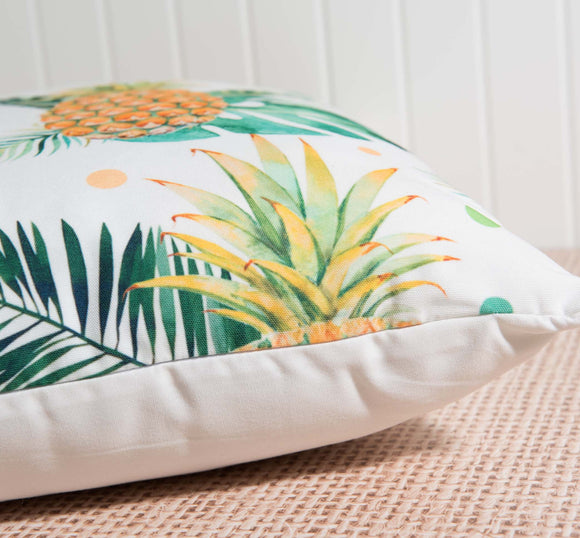 Tropical Pineapple Pillow