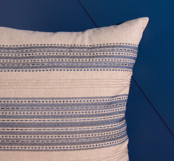 Embroidered Rom Pillow