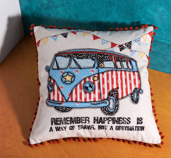 Westfalia Pillow by Déniché Boutique