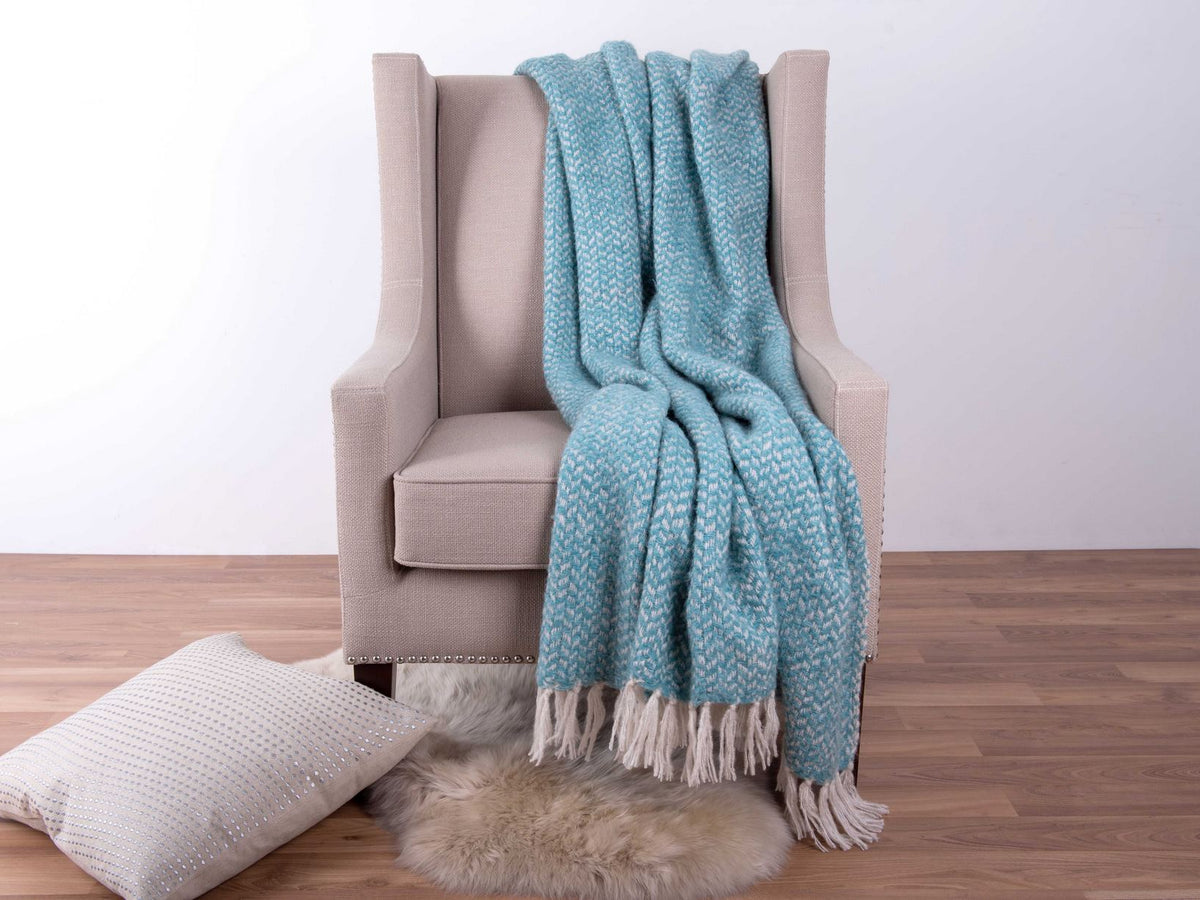 Victoria Wool Throw