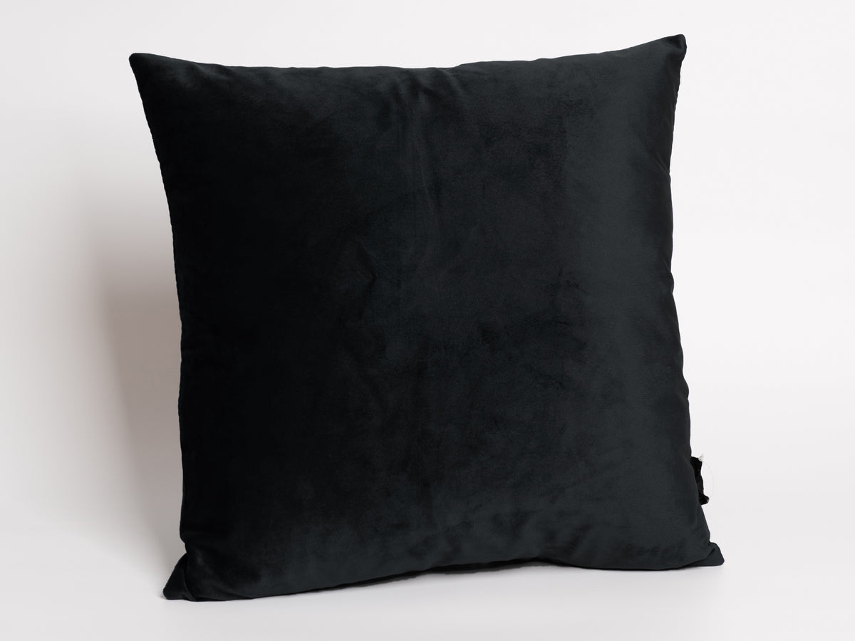 Black Boca pillow