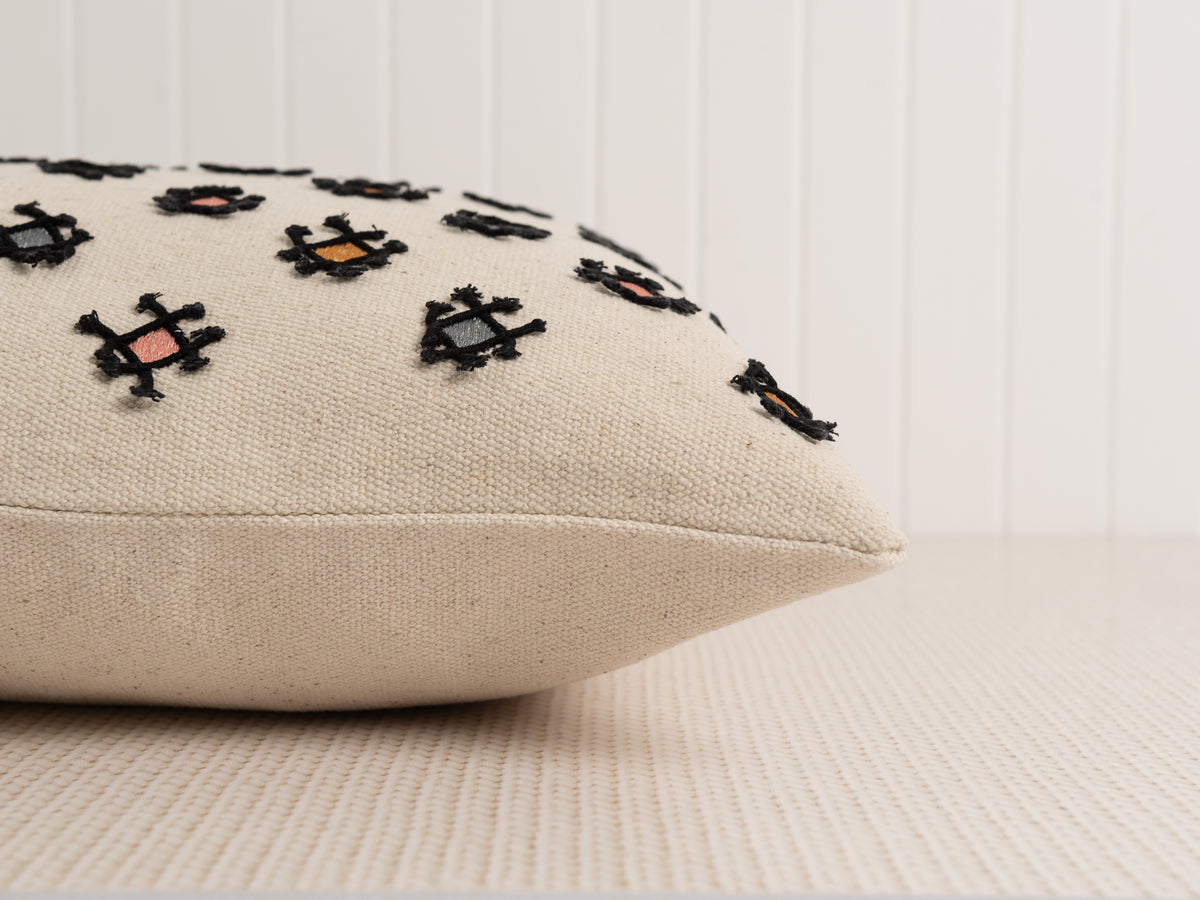 Embroidered Labasa Pillow