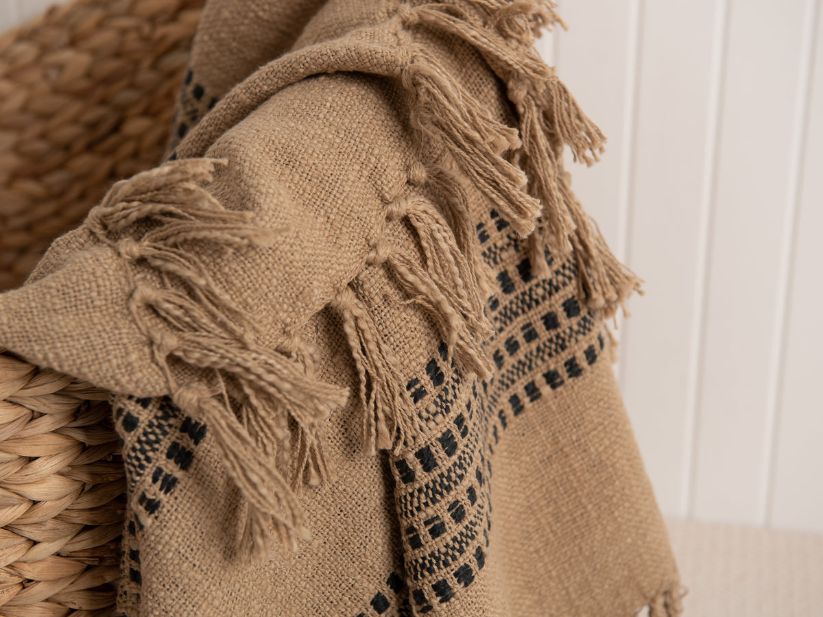 Naima Striped Throw