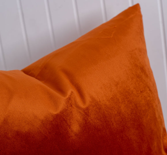 orange boca pillow