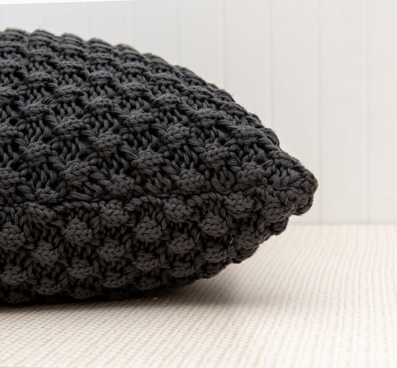 Patagonia charcoal pillow
