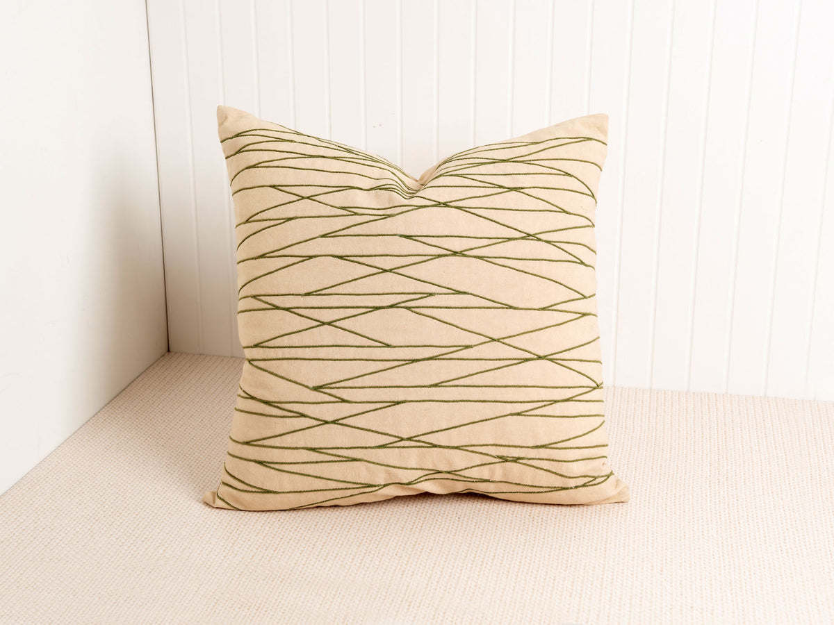 Embroidered Pesaro Pillow