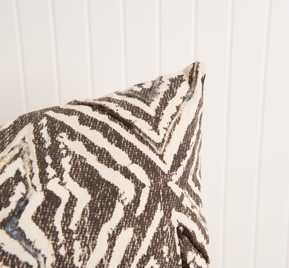 Brown & Beige Tulum Pillow