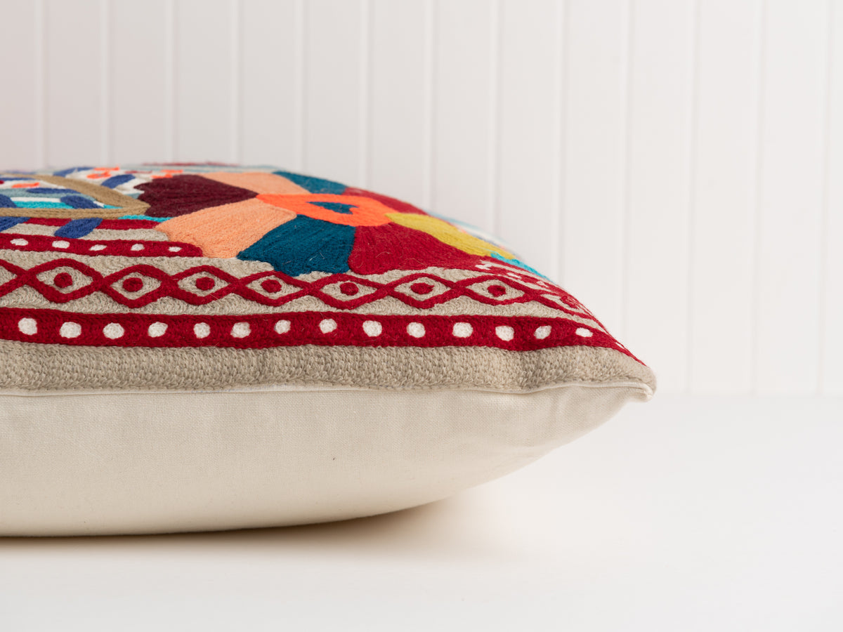 zari floor pillow
